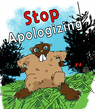 Shannon Kernaghan cartoon-beaver-colored-400 I'm Sorry, I'm Canadian Adventure Challenge